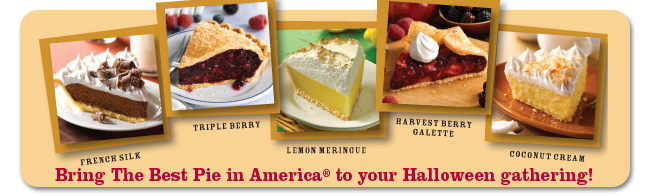 Bring The Best Pie in America® to your Halloween gathering!