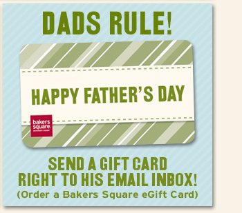 Dads Rule! Send a Gift Card right to his Email inbox!